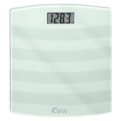 Picture of Weight Watchers®  Digital Painted Glass Scale