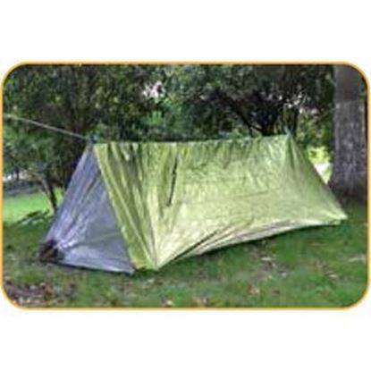 Picture of Reflective Tube Tent Green Color