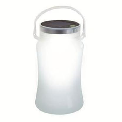 Picture of Solar Storage Bottle / Lantern (White, Blue, or Green)
