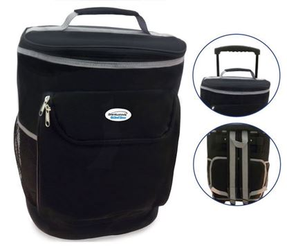 Picture of Wheeled Cooler Bag - Black