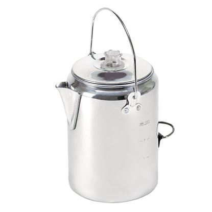 Picture of ALUMINUM PERCOLATOR COFFEE POT - 9 CUP