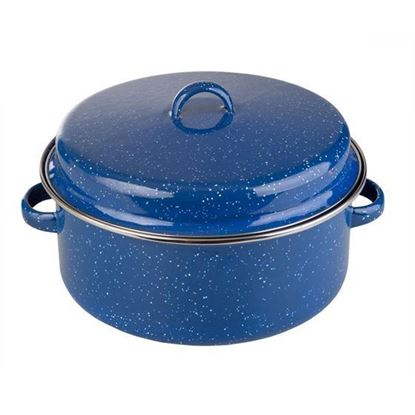 Picture of Enamel Cook Pot with Lid - 5 QT