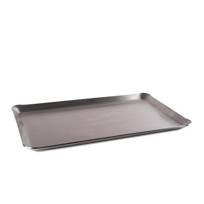 "Picture of COMMERCIAL-GRADE RECTANGLE GRIDDLE - 10"" X 16"""