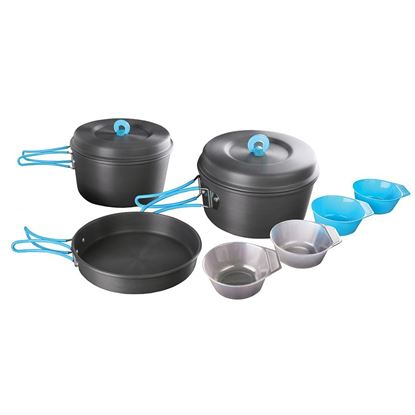 Picture of 4-PERSON HARD ANODIZED ALUMINUM COOK SET