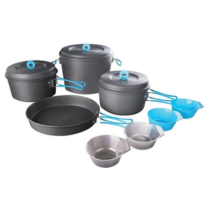 Picture of Hard Anodized Aluminum Family Cook Set