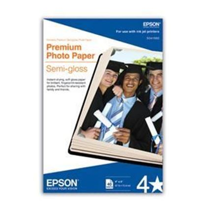 Picture of Epson Premium Photo Paper Semigloss