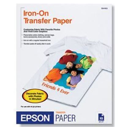 Picture of Iron-On Transfer Paper
