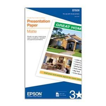 "Picture of Epson Presentation Paper Matte - Legal (8.5"" x 14"")"