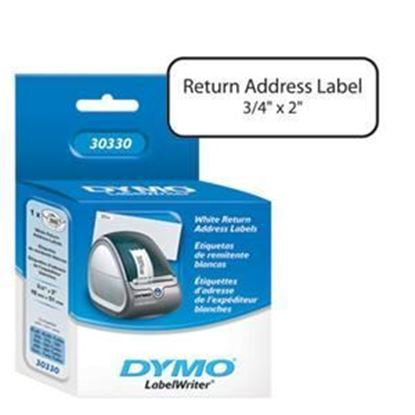 "Picture of Dymo LW Return Address Labels 3/4"" x 2"""