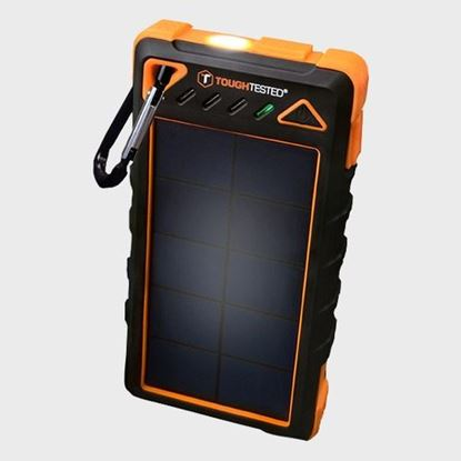 Picture of 8,000mAh Solar Power Bank With Flashlight