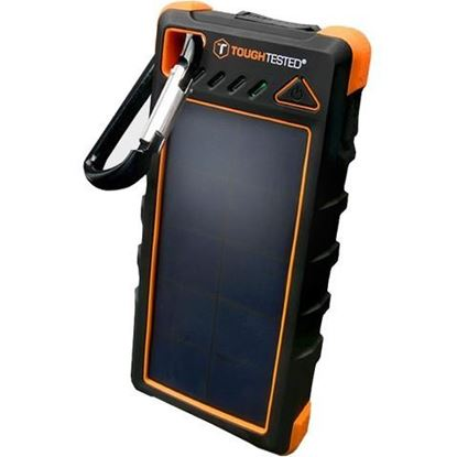 Picture of 16,000mAh Solar Power Bank With Flashlight