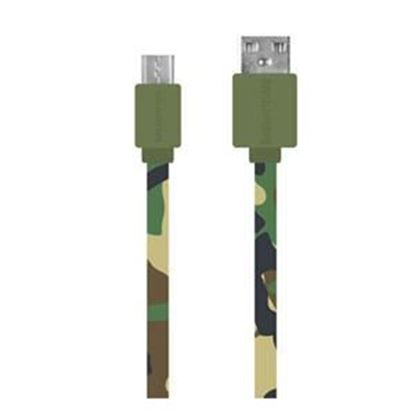 Picture of 3.3ft Micro USB Flat Colored Charge and Sync Cable