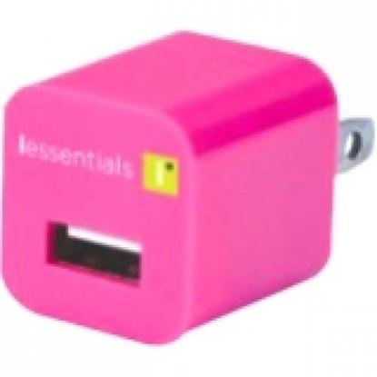 Picture of 1 Amp USB Travel Charger Pink