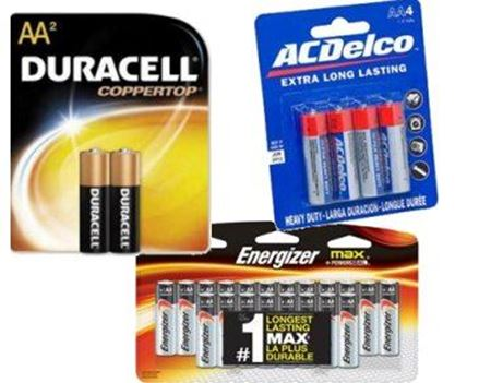 Picture for category AA Batteries
