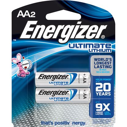Picture of Energizer Ultimate Lithium AA Batteries (2 or 4 Pack)