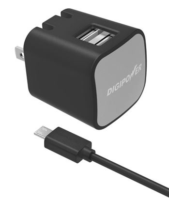 Picture of DUAL USB WALL CHARGER KIT IS-AC2DM