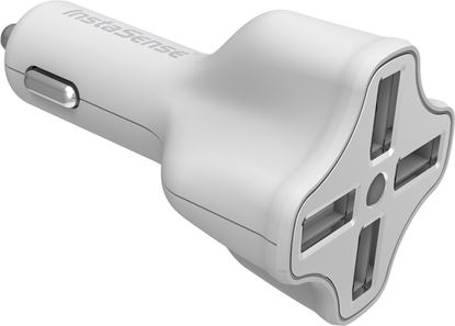 Picture of USB Car Charger with 4 Ports and InstaSense Technology