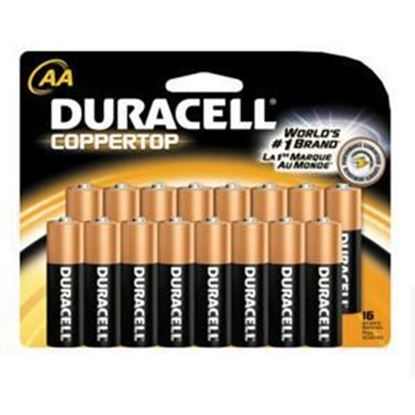 Picture of Duracell 16 Pack AA Batteries (No Minimum Purchase required)