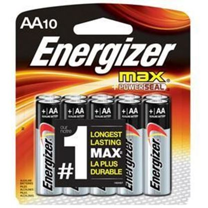 Picture of Energizer MAX Battery AA 10 Pack