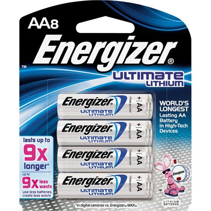 Picture of Energizer e2 Lithium Digital Camera Battery AA 8 Pack