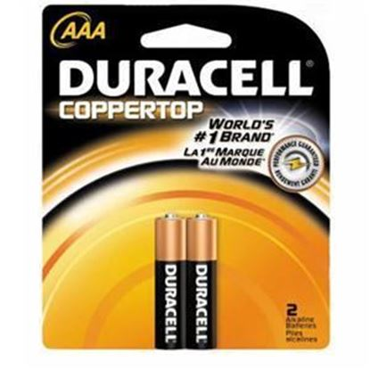 Picture of Duracell AAA Batteries 2 or 4 Pack (must buy 18 Packs at a time)