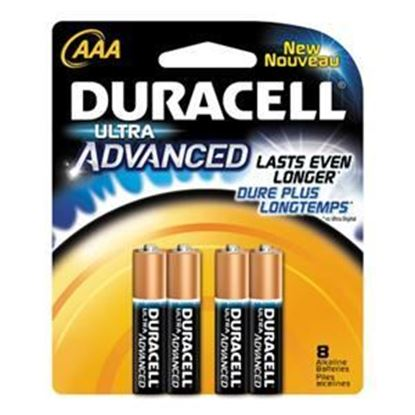 Picture of Duracell ULTRA MX2400 AAA Battery  - 8 Packs (must buy 10 Packs at a time)