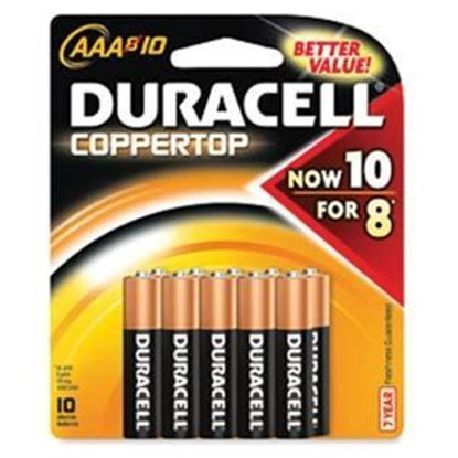 Picture of Duracell CopperTop AAA Batteries - 10 Packs (must buy 10 Packs at a time)