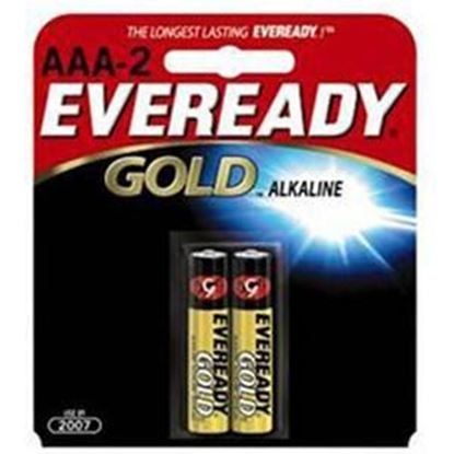 Picture of Energizer AAA Alkaline Batteries 2 or 4 Packs (must buy 12 Packs at a time)