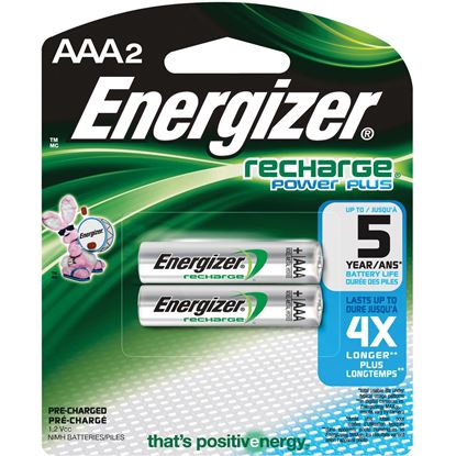 Picture of Energizer AAA Rechargeable Nickel Metal Hydride Battery (must buy 6 Packs at a time)