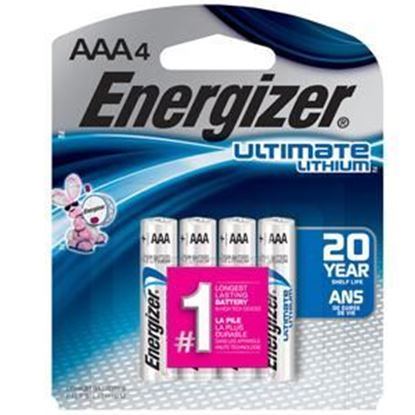 Picture of Energizer Ultimate Lithium Battery AAA 4 Pack