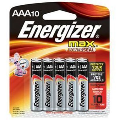 Picture of Energizer MAX Battery AAA 10 Pack