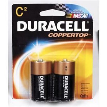 Picture of Duracell 2-Pack C Batteries  (Must purchase 8 Packs at a time)