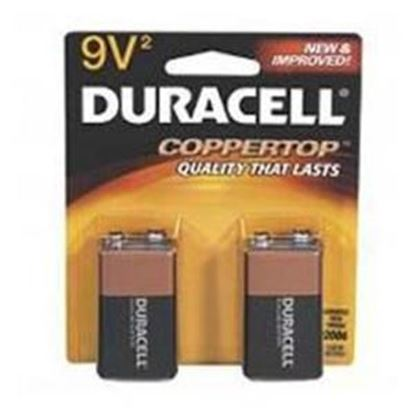 Picture of Duracell 9 volt Alkaline 2 Pack (Must purchase 12 packs at a time)