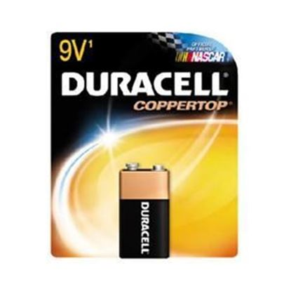 Picture of Duracell Single 9-Volt Battery (Must purchase 12 packs at a time)