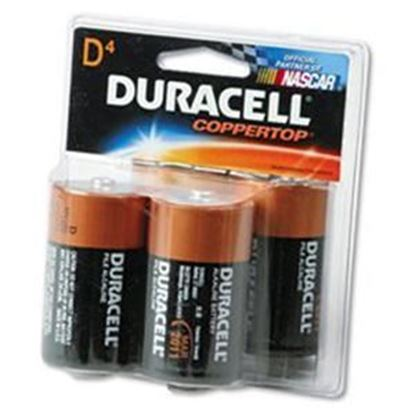 Picture of DURACELL Alkaline D-4Pack (Must purchase 12 packs at a time)