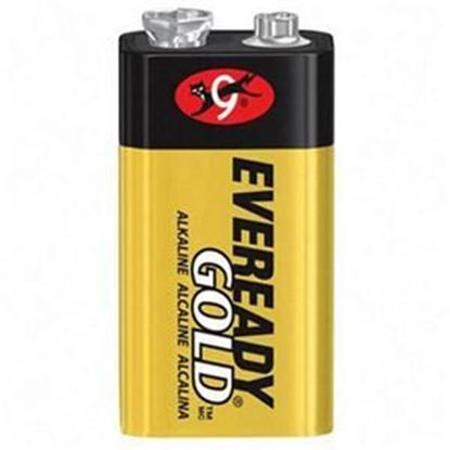 Picture of Energizer Gold 9 volt Alkaline battery (Must purchase 12 at a time)