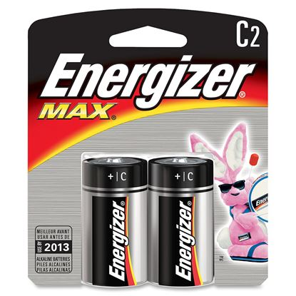 Picture of Energizer Max Alkaline C Batteries (must buy 6 Packs at a time)