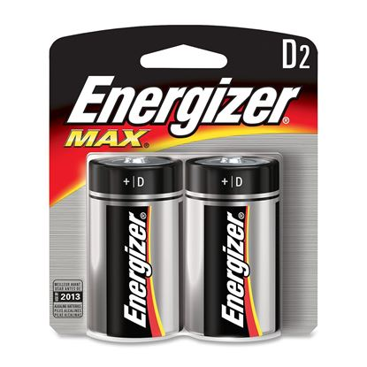 Picture of Energizer Max Alkaline D Batteries  (Must buy 12 packs at a time)