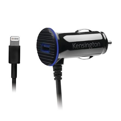 Picture of Kensington PowerBolt 3.4 Dual Port Fast Charge Car Charger