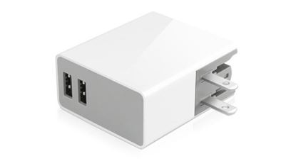Picture of 24 Watt Two USB Port Home Charger