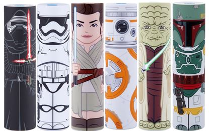 Picture of MimoPowerTube2 Star Wars Portable Power (Kylo Ren , Rey, Yoda, Stormtrooper, Boba Fett, or BB-8 )