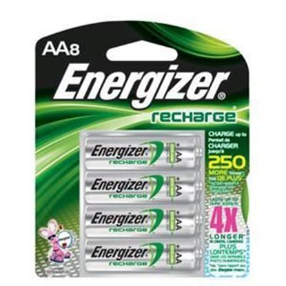 Picture of Energizer NH15BP-2 AA Nickel-metal Hydride Rechargeable Battery 8 Pack