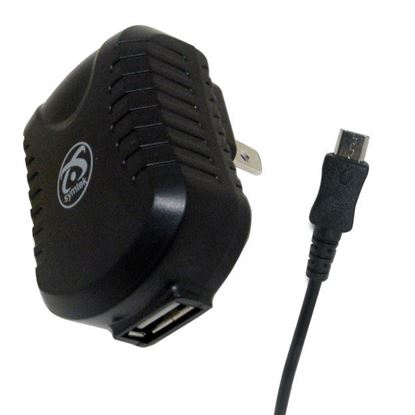 Picture of USB AC Charger with Micro USB Connector