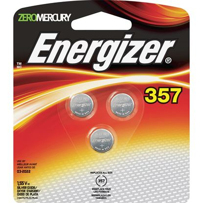 Picture of Energizer® 357/303 Battery 3 Pack (Must buy 12 Packs at a time)
