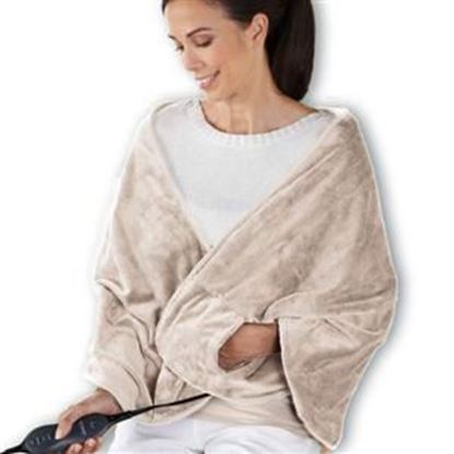 Picture of Sunbeam Chill-Away Personal Heated Wrap, Sand