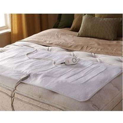 Picture of Sunbeam Comfy Toes Heated Mattress Pad, Twin & Full