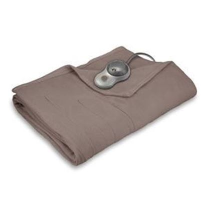 Picture of Sunbeam Quilted Fleece Heated Blanket - Twin