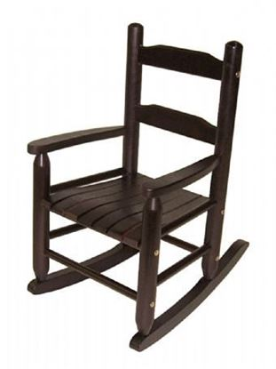 Picture of Child's Rocking Chair (Walnut, Cherry, Pecan, Espresso, or Natural Finish)