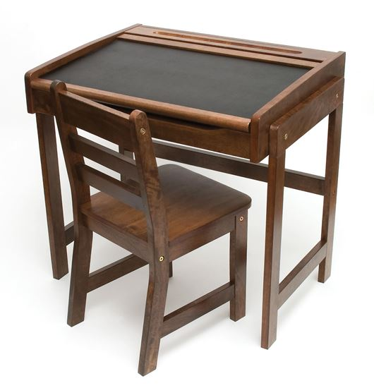 Picture of Child's Chalkboard Desk & Chair, 2-Piece Set