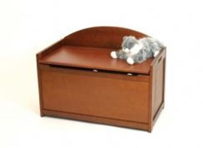 Picture of Child's Toy Chest - (White, Cherry, Espresso, Pecan, or Walnut)